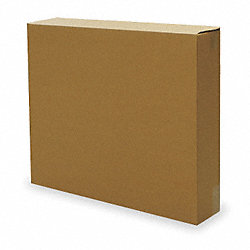 Shipping Carton, Brown, 30 In. L, 6 In. W