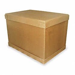 Shipping Carton, Kraft Brown, 56 In. L