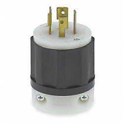 Locking Plug, Industrial, 20 A, L15-20P