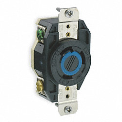 Locking Receptacle, Single, 30 A, L6-30R