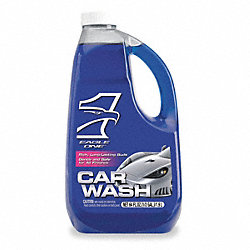 Car Wash Detergent, 64 oz, Use w/Wool Mitt