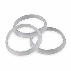 Washer, Polyethylene, Pipe 1 1/2 In, PK 10