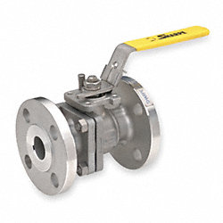 Ball Valve, 2 PC, Stainless Steel, 2 In