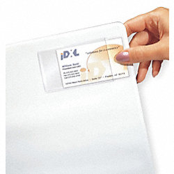 Business Card Holder, 3-1/2 In H, PK10