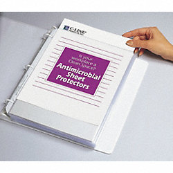 Sheet Protector, Antimicrobial, PK100