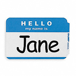 Name Badge, Hello, My Name Is, PK100