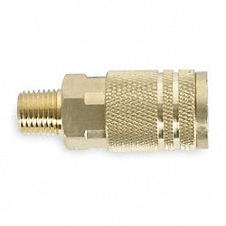 Quick Coupler, 1/4 MNPT, 1/4 Body, 300 PSI