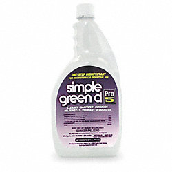 Disinfectant/Sanitizer, Size 32 oz.