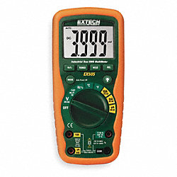 Industrial Digital Multimeter, 40 Mohms