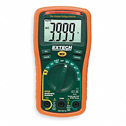 Mini Digital Multimeter, 600V, 40 MOhms