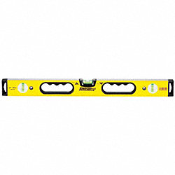 Box Beam Level, Hand Holes, 24 In