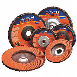 Arbor Mount Flap Disc, 7in, 40, Coarse