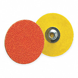 Locking Disc, CerAlO, 1-1/2in, 60Grit, PK100