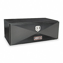 Truck Box, Underbed, 6.4 Cu-Ft, Steel, Black