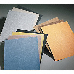 Sanding Sheet, 11x9 In, 120 G, AlO, PK3