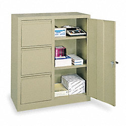 Cabinet, Combo File, 36Wx18D, Putty