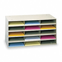 Literature Organizer, 15 Compartments