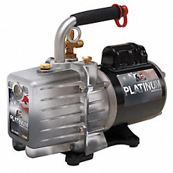 Evacuation Pump, 7.0 cfm, 1/2 HP, 6 ft.