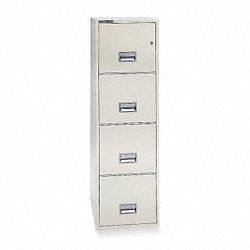File, Fire, Legal, 4 Shelves, 53 9/16H