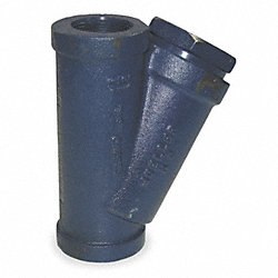 Y Type Strainer, Ductile Iron, 1 In