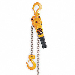 Hoist, Ratchet Lever, 1 1/2 Ton, 5 Ft Lift