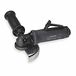 Air Angle Grinder, 7-3/4 In. L, 12, 000 rpm