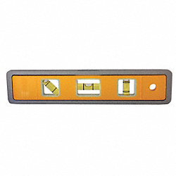 Magnetic Glo-View Torpedo Level, 9 In