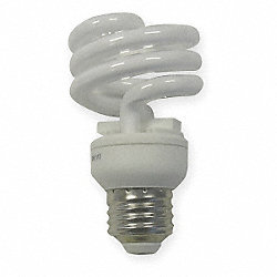 Screw-In CFL, 13W, T2, Medium