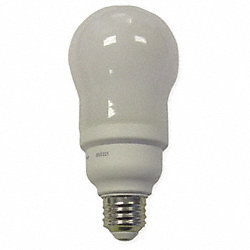 Screw-In CFL, 15W, A19, Medium