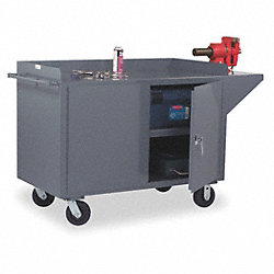 Mobile Service Bench, 60 In. L, 24 In. W