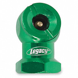 Tire Chuck, Ball Foot, 1/4 FNPT, Green