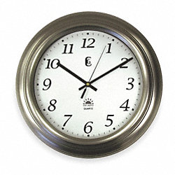 Quartz Clock, Round, 14 1/2 x 14 1/2 In