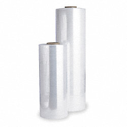 Stretch Wrap, Clear, 8000 ft.L, 20In W, PK40