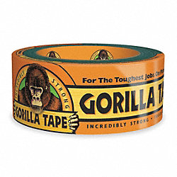Duct Tape, 2 In x 12 yd, 17 mil, Black