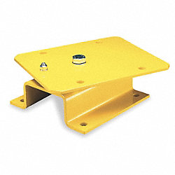 14 In. Pivot Base, Weatherproof, Yellow