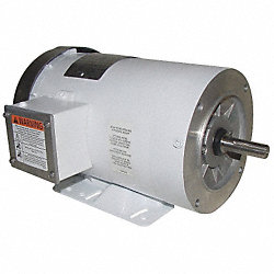 Washdown Motor, 3 Ph, TEFC, 2 HP, 3450 rpm