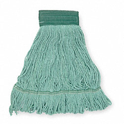 Wet Mop, Medium, Green, Looped End