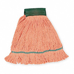Wet Mop, Medium, Orange, Looped End