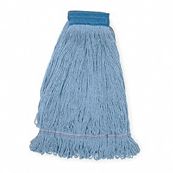 Wet Mop, XL, Blue, Looped End