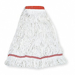 Wet Mop, Antimicrobial, Large, White