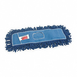 Dust Mop, Sz 36 In, Blue