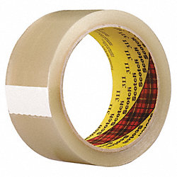 Carton Sealing Tape, Clear, 48mm x 914m