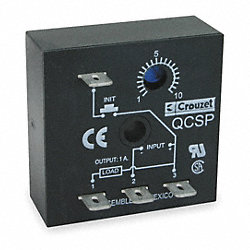 Relay, Solid State, Off Delay, 10 Sec