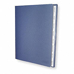 Document Organizer, Blue, 8 Tabs