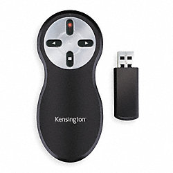 Wireless Presenter Remote, Red, 60 ft.