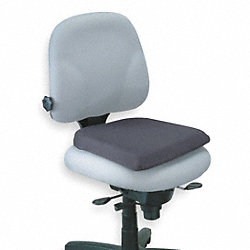 Seat Rest, Memory Foam, Black