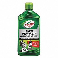 Liquid Car Wax, 16 Oz, Bottle, White