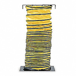 Ventilation Duct, 15 ft., Black/Yellow