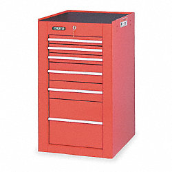 Tool Cabinet, 19.5 Wx25 Dx34 H, 6 Drawers