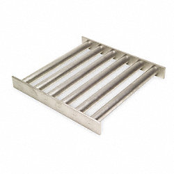 Magnetic Grate, Rare Earth, 6x6x1 1/2In
